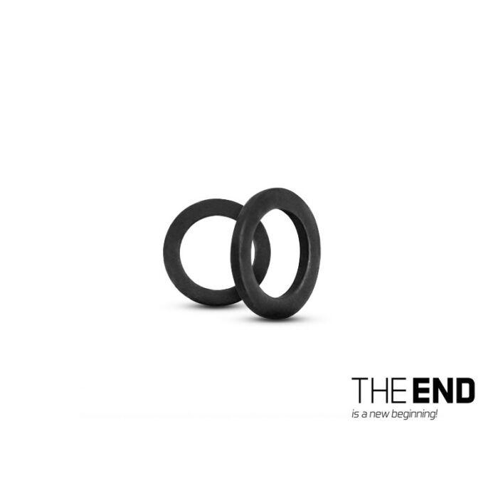 Delphin The End Round Ring fémkarika