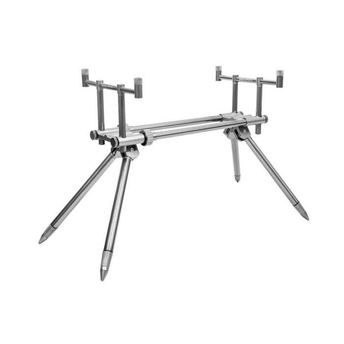 Delphin RPX Stalk Rod Pod Silver