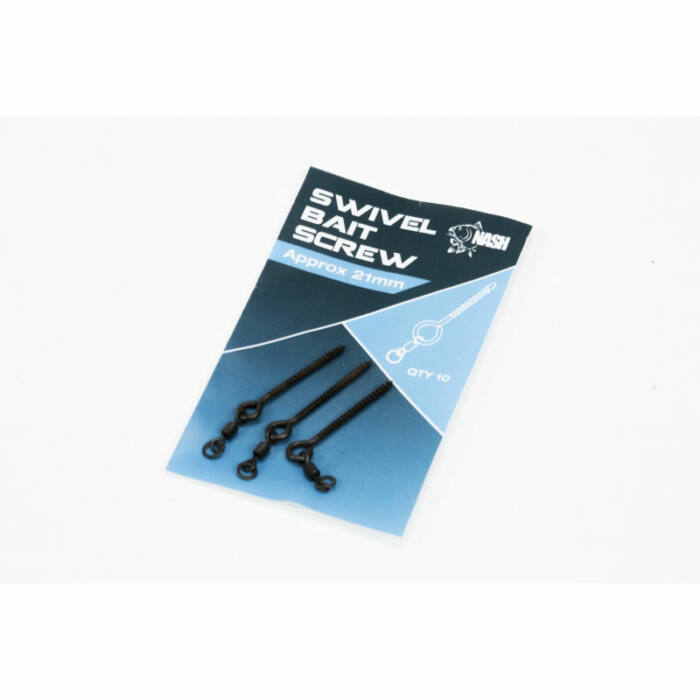 Nash Swivel Bait Screw 21mm csalitüske forgóval