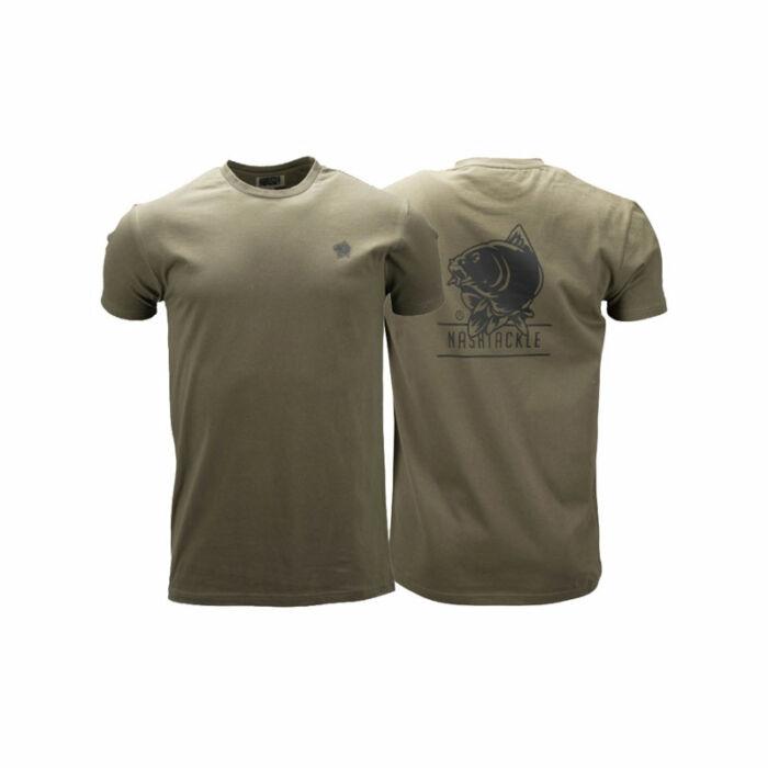 Nash Tackle T-shirt Green póló