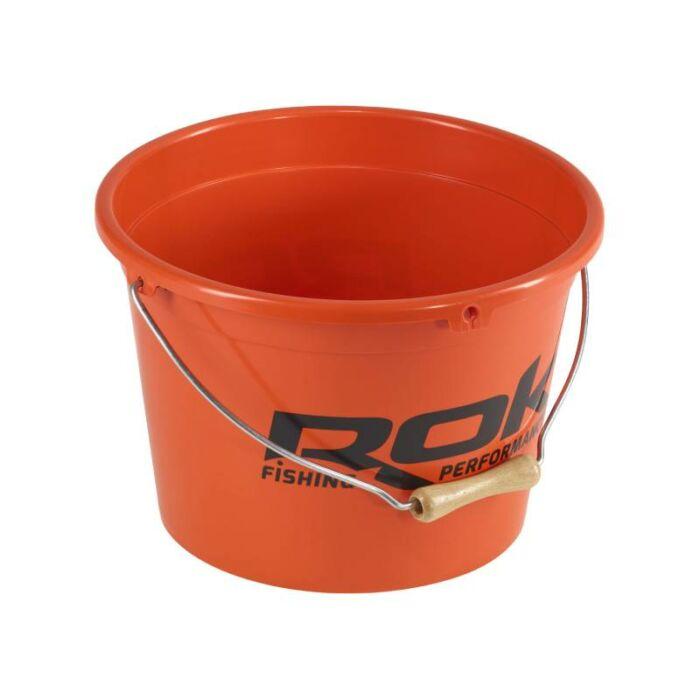 Rok Round Bait Bucket kerek csalis vödör 13 liter