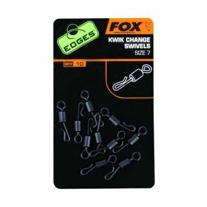 Fox Edges Kwik Change Swivel gyorskapcsos forgó 7-es