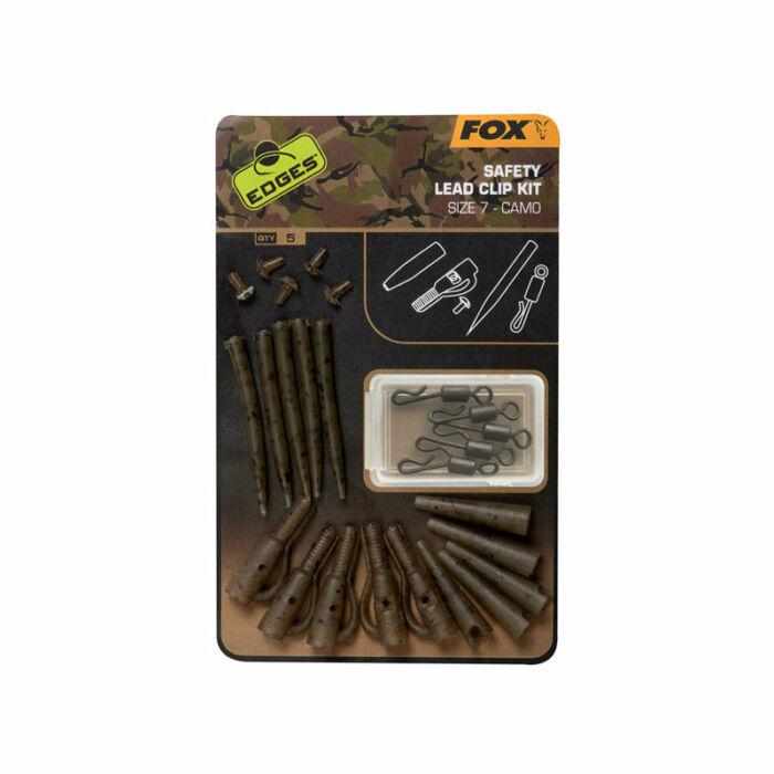 Fox Edges Camo Safety Lead Clip Kit biztonsági ólomklipsz szett