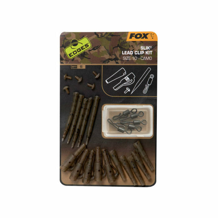 Fox Edges Camo Slik Lead Clip Kit ólomklipsz készlet