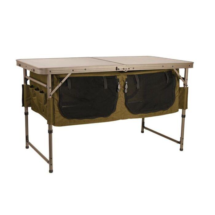 Fox Session Table with Storage tábori asztal
