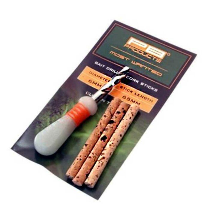 PB Products Bait Drill & Corks csalifúró parafarudakkal