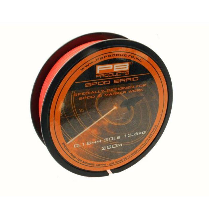 PB Products Spod & Marker Braid Fluo Orange fonott zsinór 250m