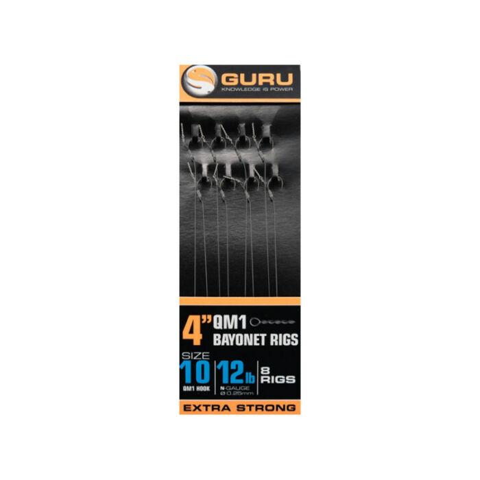 Guru Bayonet QM1 Hair Rig kész előke csalitüskével 8db